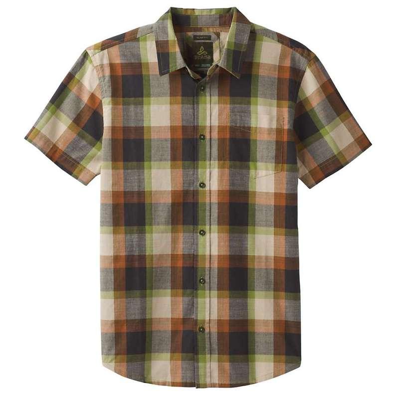 プラーナ メンズ シャツ トップス Prana Men's Benton Shirt- Slim Matcha
