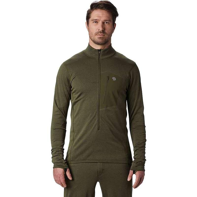 送料無料 サイズ交換無料 マウンテンハードウェア メンズ 2020秋冬新作 アウター ニット セーター Dark Army NEW ARRIVAL Mountain 3 Hardwear Zip 4 Fun 2 Pullover Type Men's