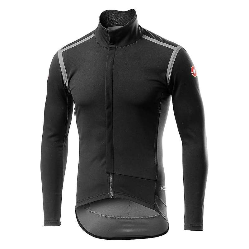 カステリ メンズ シャツ トップス Castelli Men's Perfetto RoS Long Sleeve Light Black