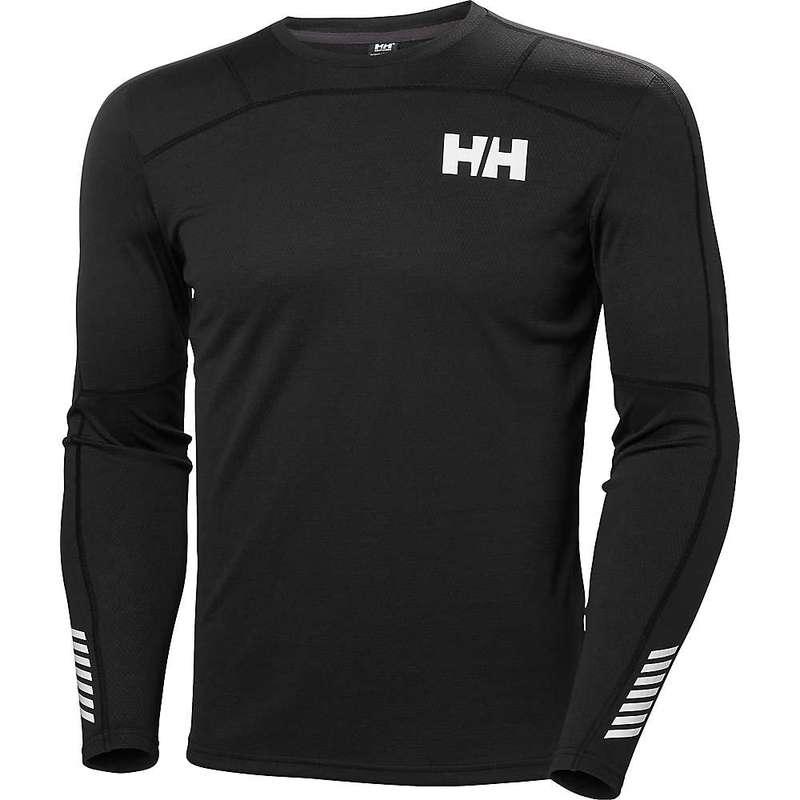 ヘリーハンセン メンズ Tシャツ トップス Helly Hansen Men's HH Lifa Active Crew Black