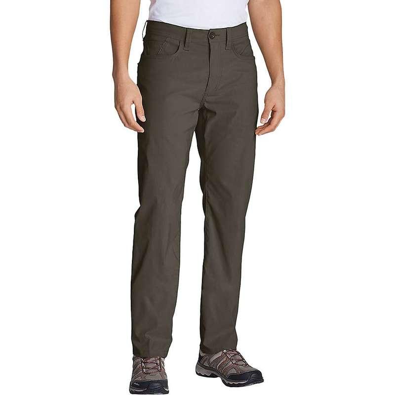 エディー バウアー メンズ カジュアルパンツ ボトムス Eddie Bauer Travex Men's Horizon Guide Five Pocket Pant Slate Green