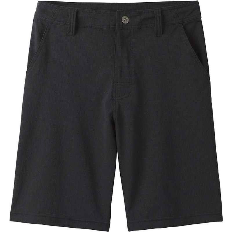 プラーナ メンズ ハーフパンツ・ショーツ ボトムス Prana Men's Hybridizer 8.5 Inch Short Black