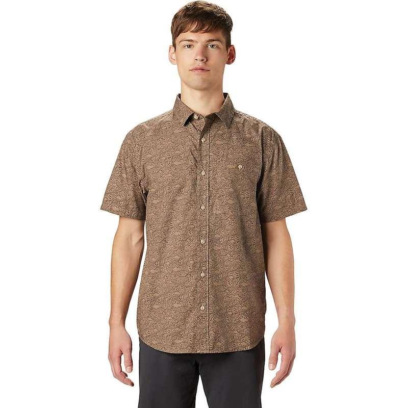 マウンテンハードウェア メンズ シャツ トップス Mountain Hardwear Men's Conness Lakes SS Shirt Dunes Wave Print