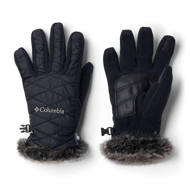 送料無料 サイズ交換無料 コロンビア 新作 人気 レディース アクセサリー 手袋 Heavenly Women's Columbia Glove Black