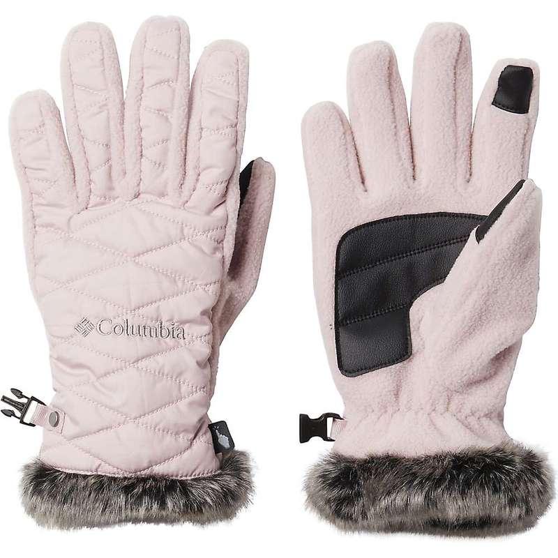 送料無料 サイズ交換無料 コロンビア レディース 安心の実績 高価 買取 強化中 アクセサリー 手袋 Heavenly Columbia Pink 売買 Mineral Women's Glove