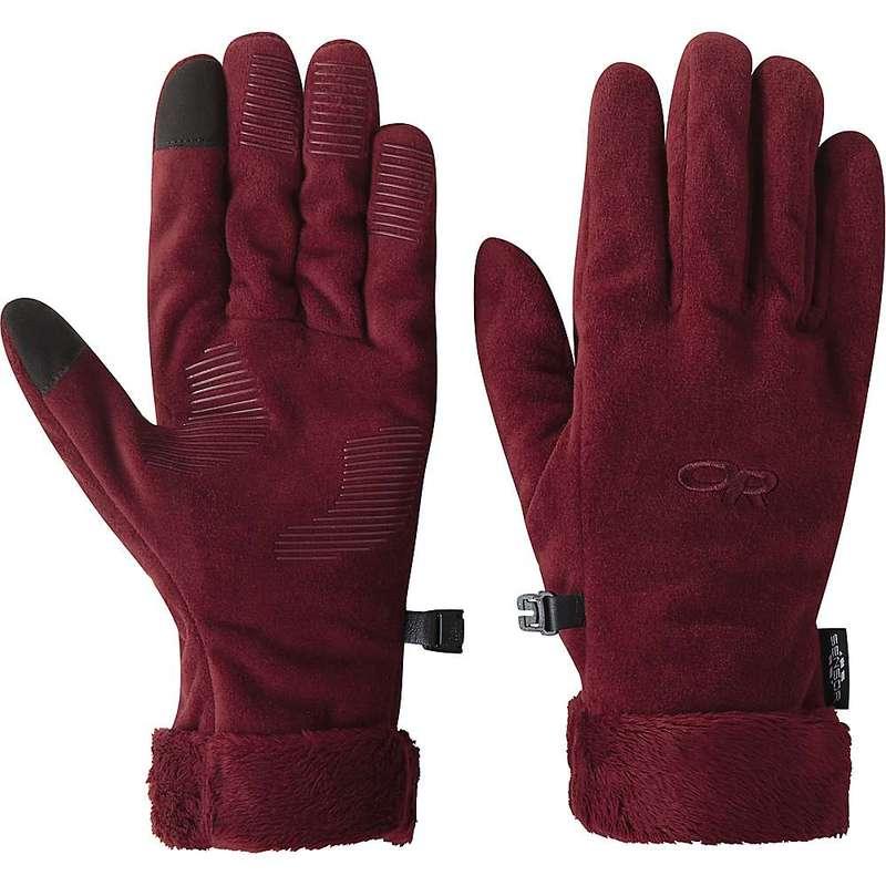 送料無料 サイズ交換無料 アウトドアリサーチ レディース オープニング 大放出セール アクセサリー 手袋 Madder Fuzzy Sensor Research Outdoor ショップ Women's Glove