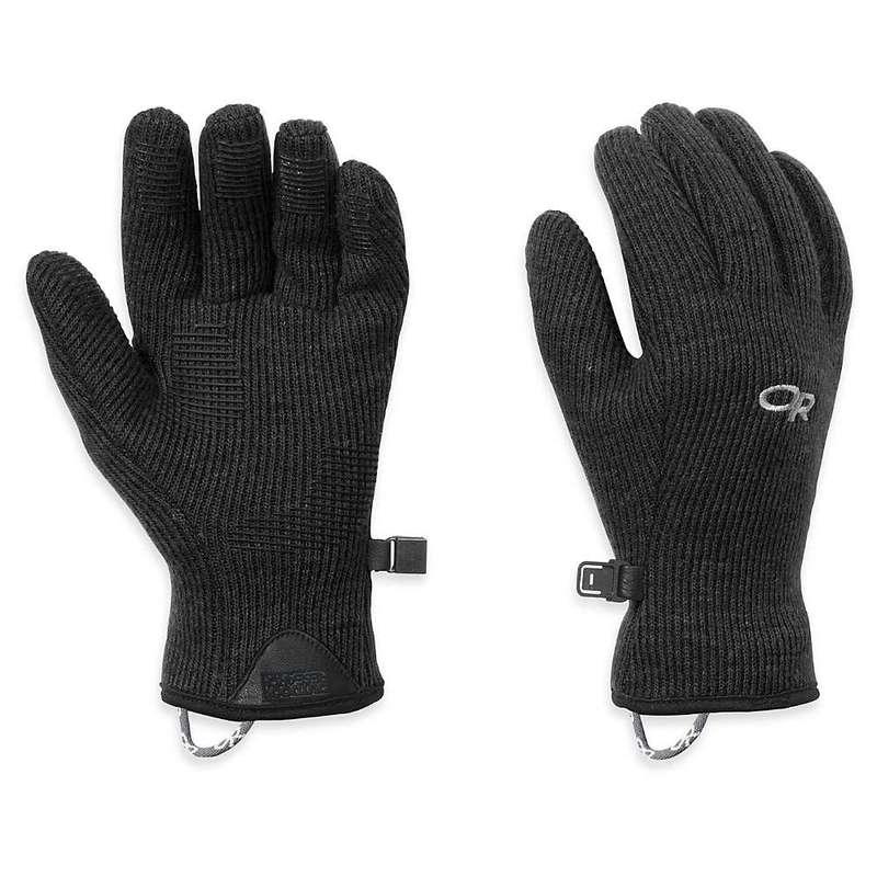 選択 送料無料 サイズ交換無料 アウトドアリサーチ レディース 物品 アクセサリー 手袋 Black Research Sensor Flurry Outdoor Glove Women's