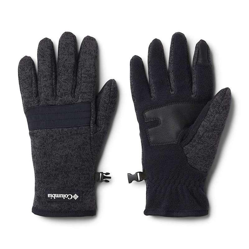 送料無料 サイズ交換無料 コロンビア メンズ アクセサリー 爆安 手袋 Black 現金特価 Heather Sweater Columbia Weather Men's Glove