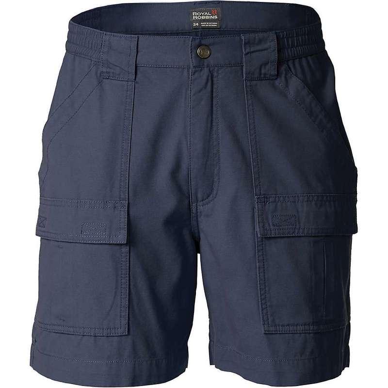 ロイヤルロビンズ メンズ ハーフパンツ・ショーツ ボトムス Royal Robbins Men's Blue Water Short Navy
