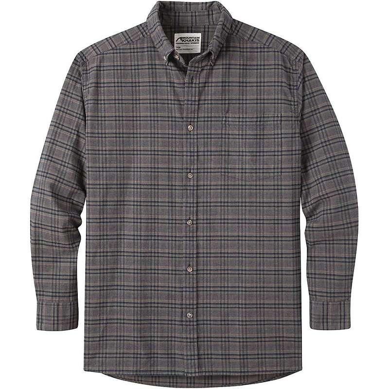 マウンテンカーキス メンズ シャツ トップス Mountain Khakis Men's Downtown Flannel Shirt Navy