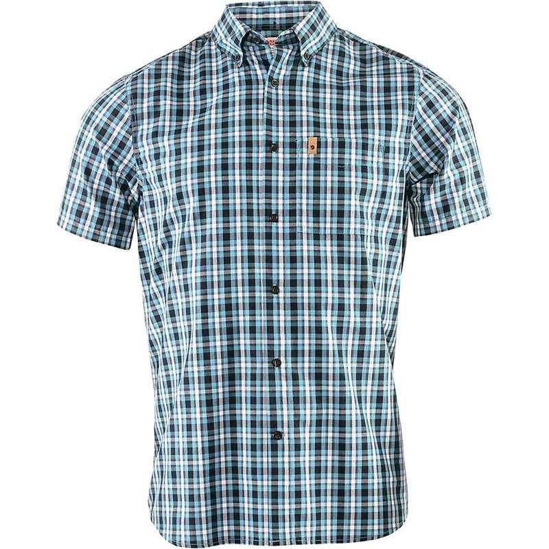 フェールラーベン メンズ シャツ トップス Fjallraven Men's Ovik SS Shirt Dusk
