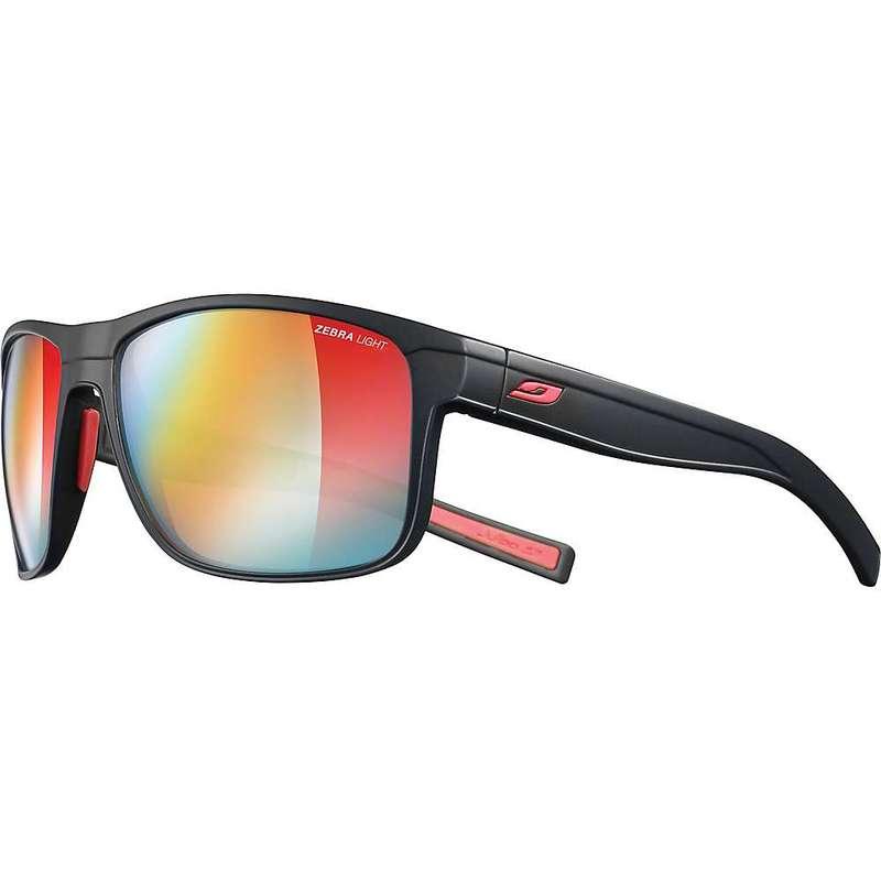 ジュルボ メンズ サングラス・アイウェア アクセサリー Julbo Renegade Sunglasses Black/Red/Zebra Light Fire