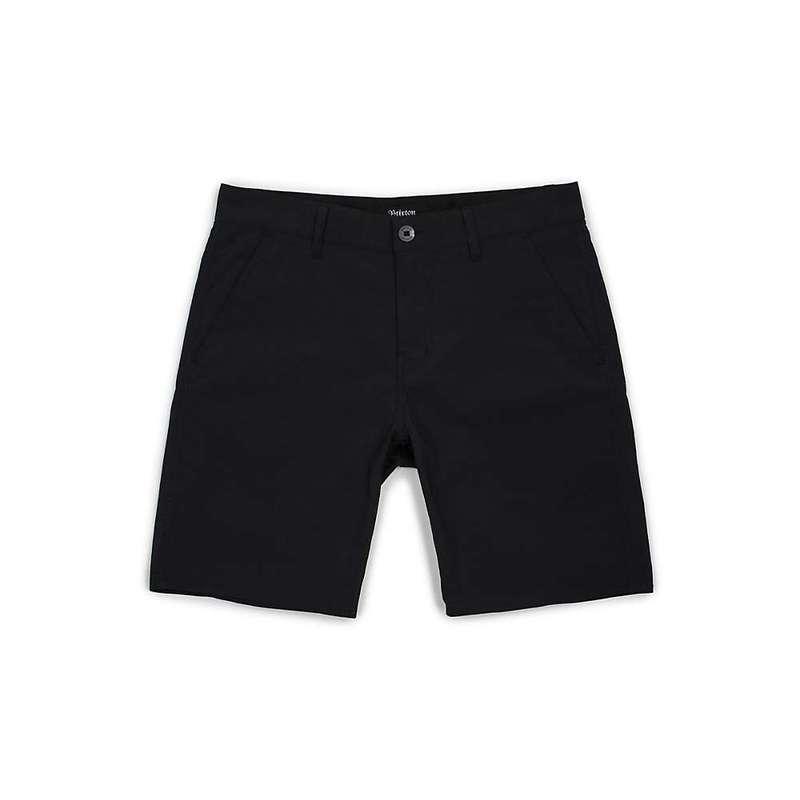 ブリクストン メンズ ハーフパンツ・ショーツ ボトムス Brixton Men's Toil II All-Terrain Short Black