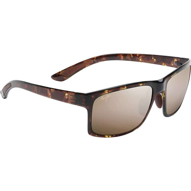 マウイジム メンズ サングラス・アイウェア アクセサリー Maui Jim Pokowai Arch Polarized Sunglasses Olive Tortoise / HCL Bronze Polarized