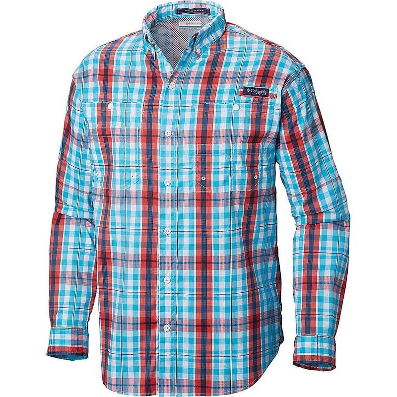 コロンビア メンズ シャツ トップス Columbia Men's Super Tamiami LS Shirt Atoll Multi Plaid