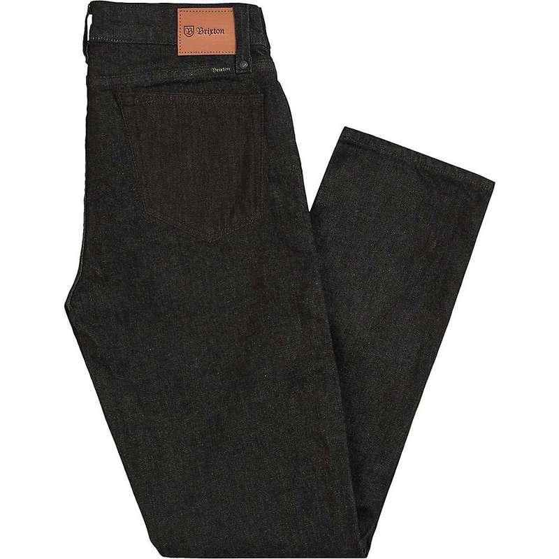 ブリクストン メンズ カジュアルパンツ ボトムス Brixton Men's Reserve Denim Pant Black