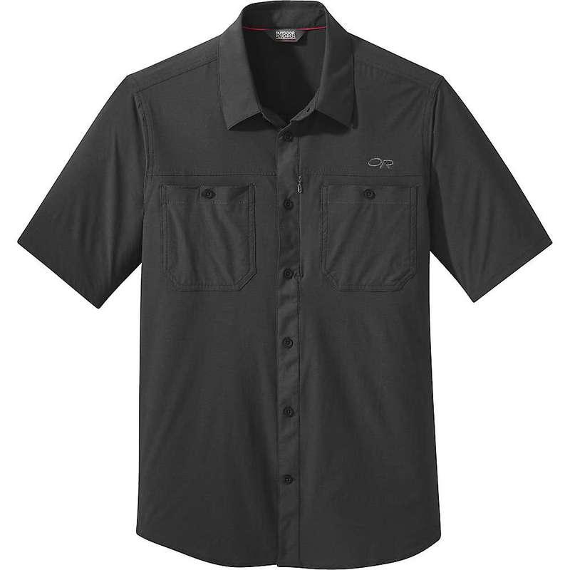 アウトドアリサーチ メンズ シャツ トップス Outdoor Research Men's Wayward SS Shirt Black