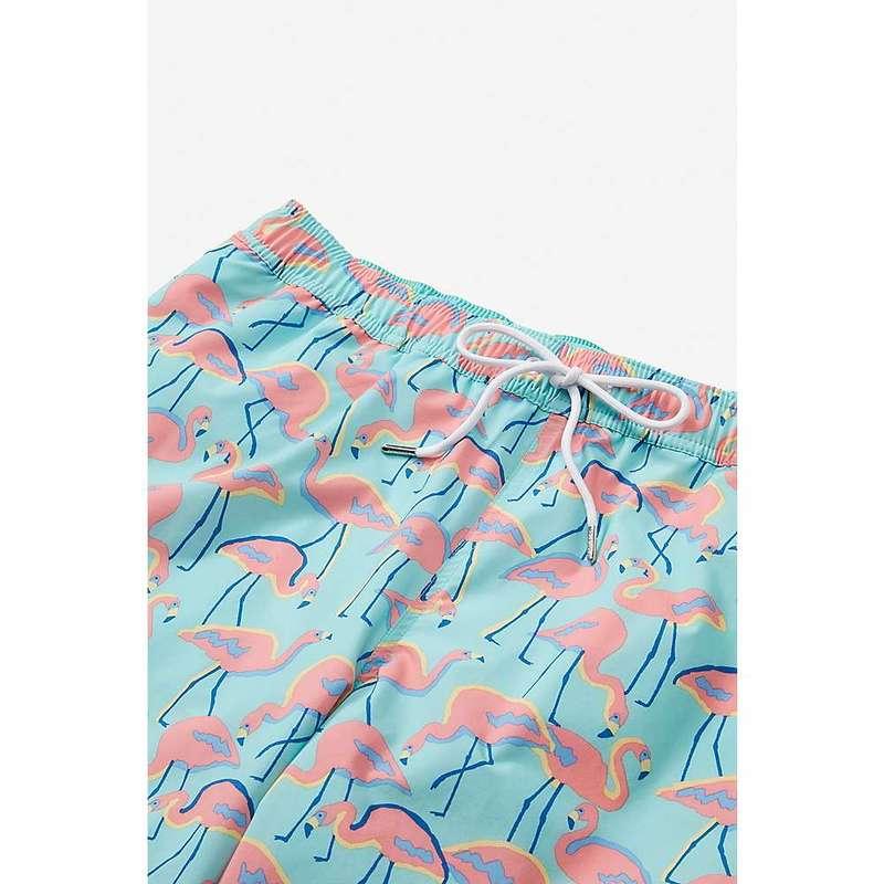 ボノボス メンズ ハーフパンツ・ショーツ 水着 Bonobos Men's E-Waist 7IN Trunk Look Flamingos C8
