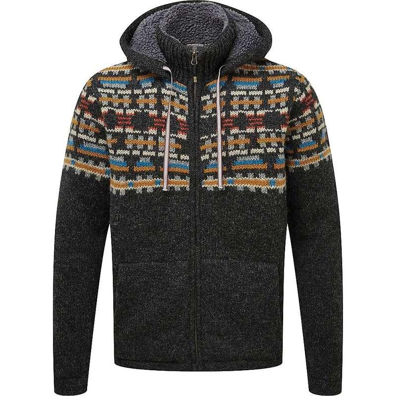 シャーパ メンズ ニット・セーター アウター Sherpa Men's Kirtipur Sweater Kharani Grey