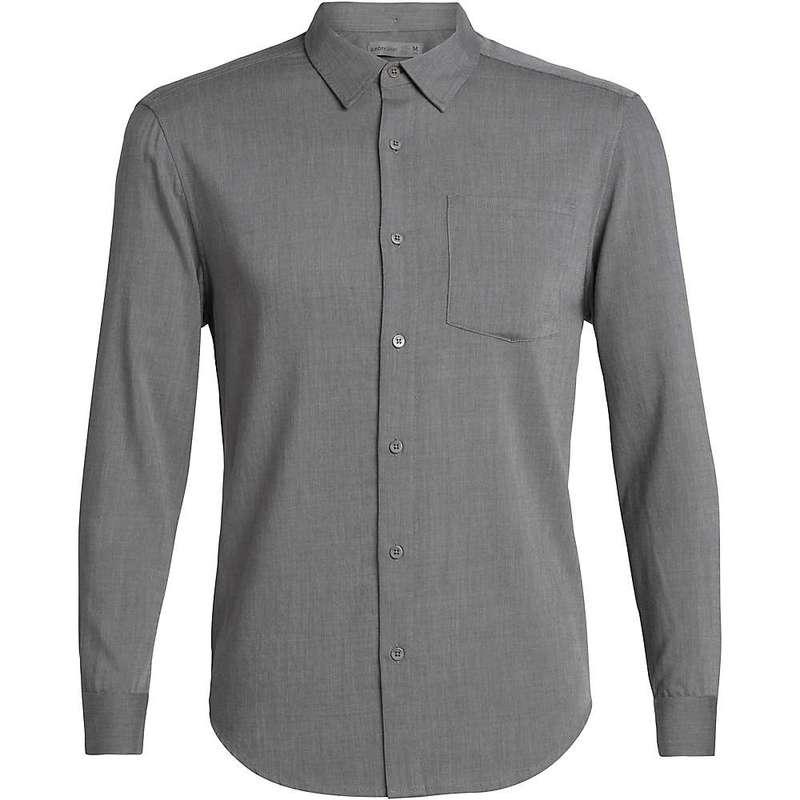アイスブレーカー メンズ シャツ トップス Icebreaker Men's Steveston LS Flannel Shirt Gritstone Heather