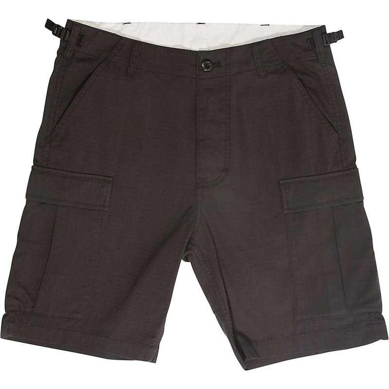 トポ・デザイン メンズ ハーフパンツ・ショーツ ボトムス Topo Designs Men's Cargo 8.5 Inch Short Black