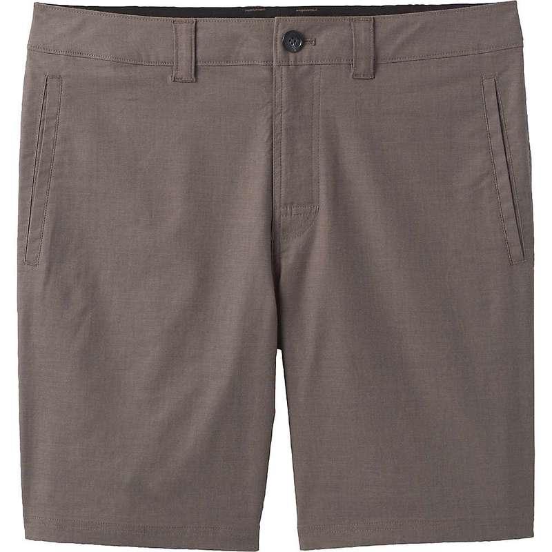 プラーナ メンズ ハーフパンツ・ショーツ ボトムス Prana Men's Marlon Chino 8 Inch Short Mud