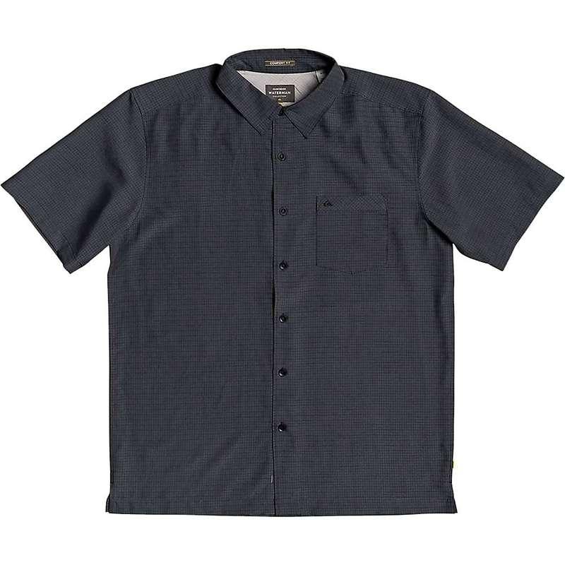 クイックシルバー メンズ シャツ トップス Quiksilver Men's Centinela 4 Shirt Black Centinella