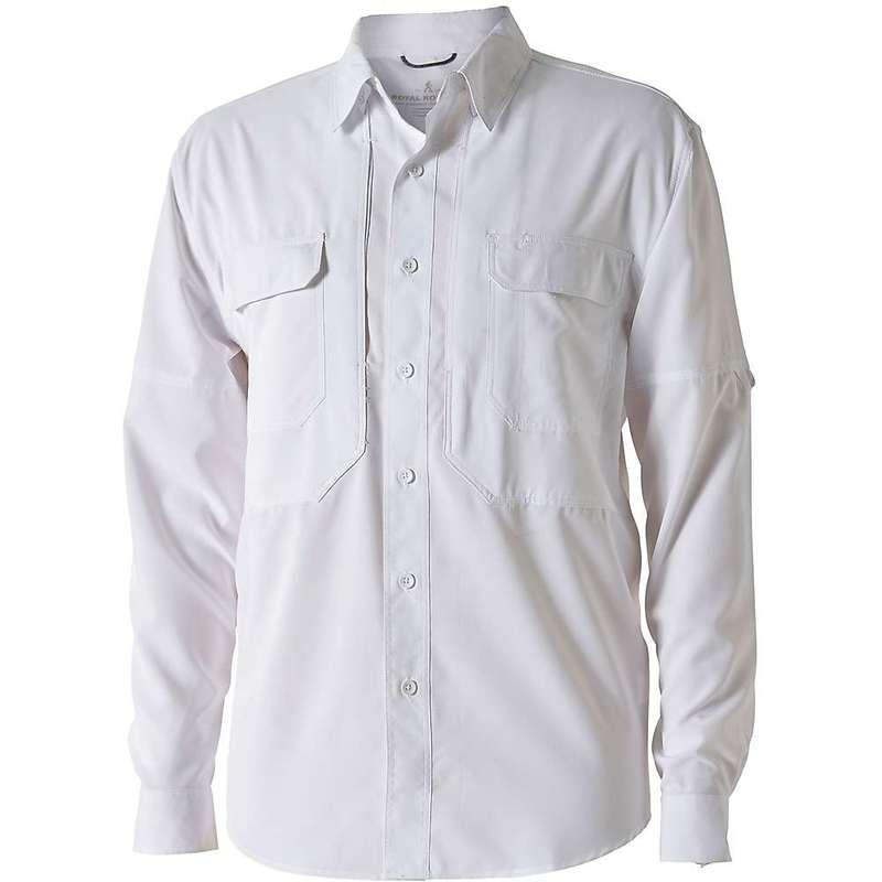 ロイヤルロビンズ メンズ シャツ トップス Royal Robbins Men's Expedition LS Shirt White