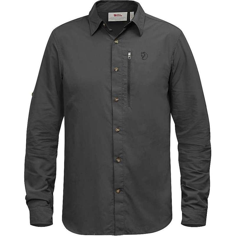 フェールラーベン メンズ シャツ トップス Fjallraven Men's Abisko Hike LS Shirt Dark Grey
