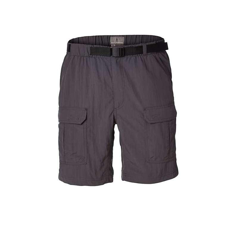 ロイヤルロビンズ メンズ ハーフパンツ・ショーツ ボトムス Royal Robbins Men's Backcountry Short Asphalt