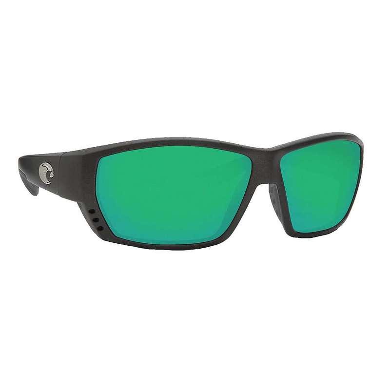 コスタデルマール メンズ サングラス・アイウェア アクセサリー Costa Del Mar Men's Tuna Alley Polarized Sunglasses Steel Gray Metallic/Green 580G