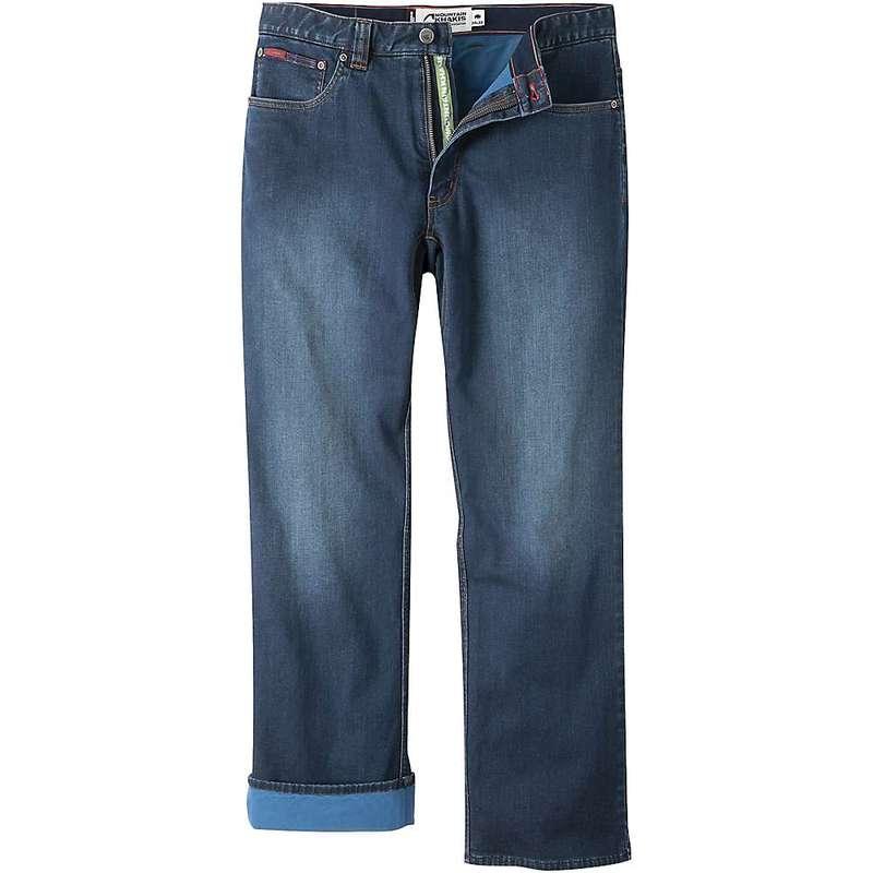 マウンテンカーキス メンズ カジュアルパンツ ボトムス Mountain Khakis Men's 307 Lined Classic Fit Jean Medium Wash