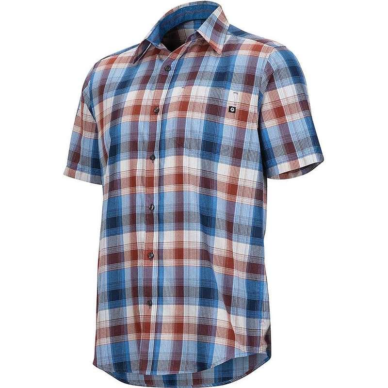 マーモット メンズ シャツ トップス Marmot Men's Notus SS Shirt Varsity Blue