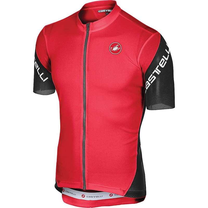 カステリ メンズ シャツ トップス Castelli Men's Entrata 3 Full Zip Jersey Red