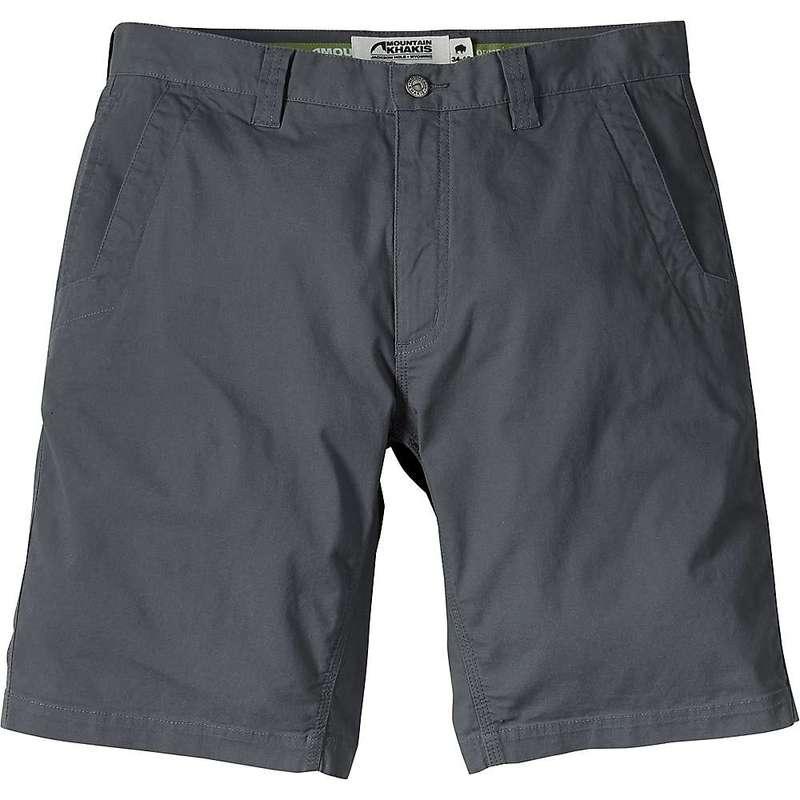 マウンテンカーキス メンズ ハーフパンツ・ショーツ ボトムス Mountain Khakis Men's All Mountain 10 Inch Relaxed Fit Short Gunmetal