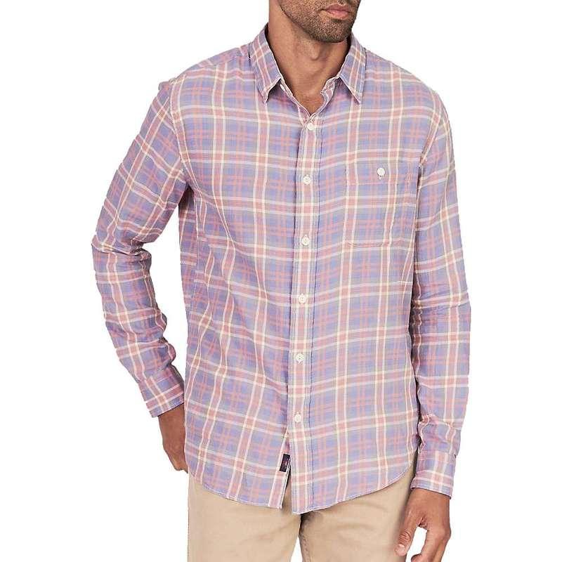 ファレティ メンズ シャツ トップス Faherty Men's Seaview Long Sleeve Shirt Sunfaded Plaid