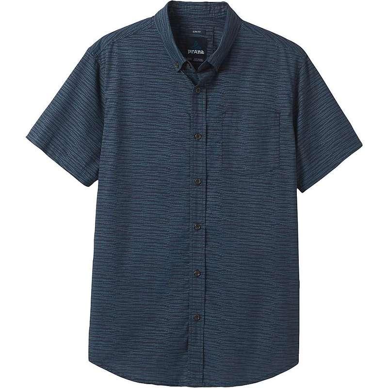 プラーナ メンズ シャツ トップス Prana Men's Agua Shirt - Slim Atlantic
