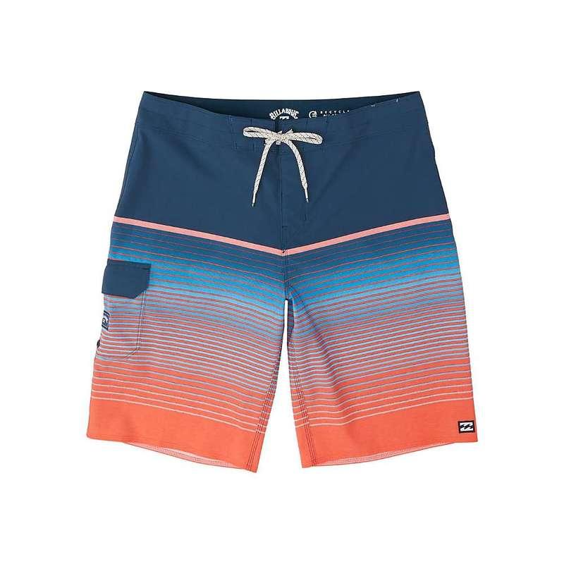 ビラボン メンズ ハーフパンツ・ショーツ 水着 Billabong Men's All Day Stripe Pro Boardshort Neon Melon