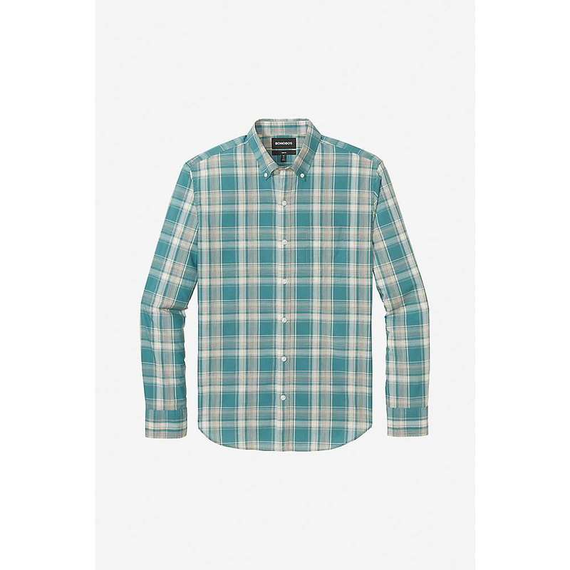ボノボス メンズ シャツ トップス Bonobos Men's Summerweight Shirt Harbor Plaid West Coast