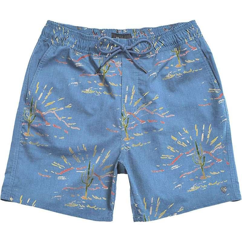 ブリクストン メンズ ハーフパンツ・ショーツ 水着 Brixton Men's Havana Trunk Slate Blue/Cactus