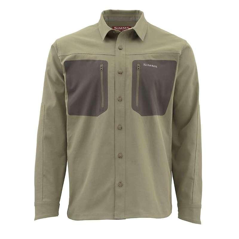 シムズ メンズ シャツ トップス Simms Men's Tongass LS Shirt Tan