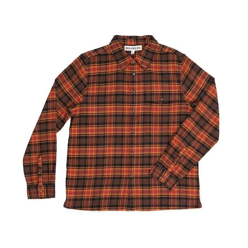 ロアマーズ メンズ シャツ トップス Roamers Men's Plaid Daisen Shirt Clay Red Plaid