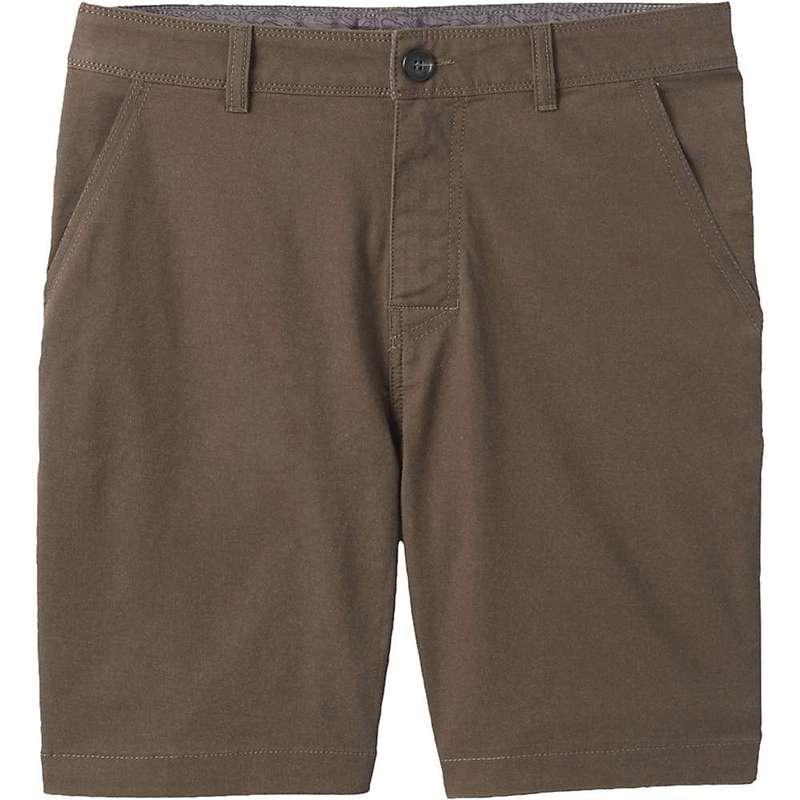 プラーナ メンズ ハーフパンツ・ショーツ ボトムス Prana Men's McClee 8.5 Inch Short Slate Green