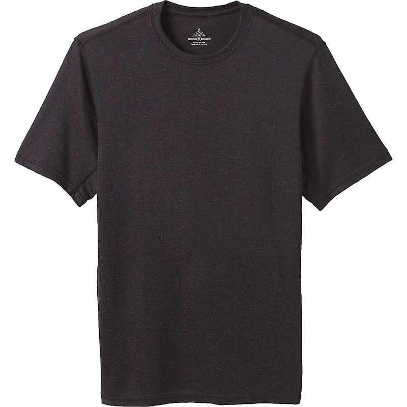 プラーナ メンズ Tシャツ トップス Prana Men's Prevailor SS Shirt Black