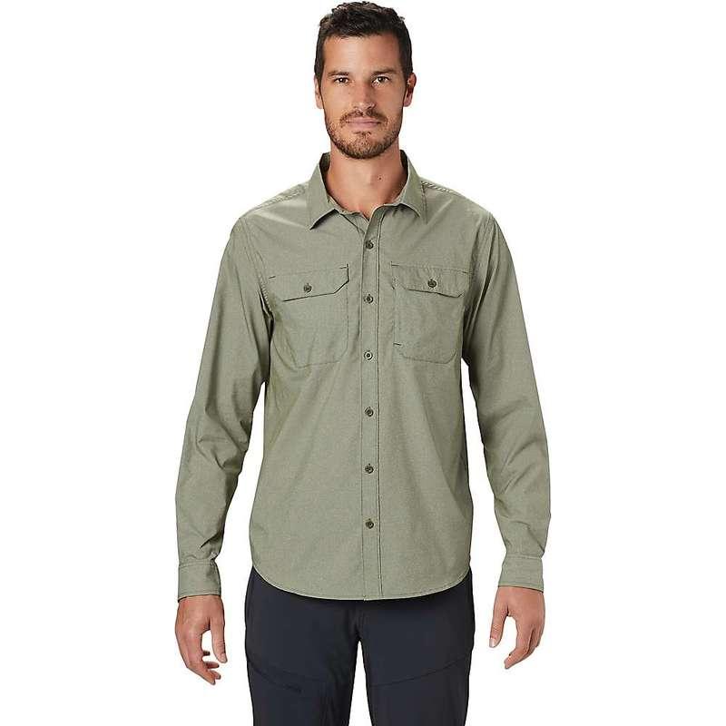 マウンテンハードウェア メンズ シャツ トップス Mountain Hardwear Men's Canyon Pro LS Shirt Dark Army
