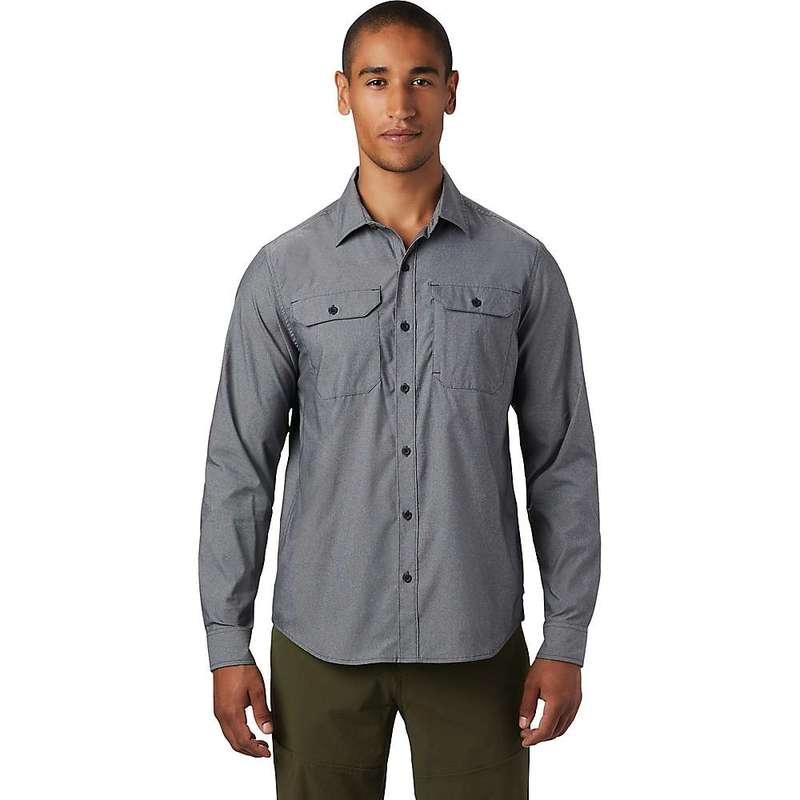 マウンテンハードウェア メンズ シャツ トップス Mountain Hardwear Men's Canyon Pro LS Shirt Dark Storm