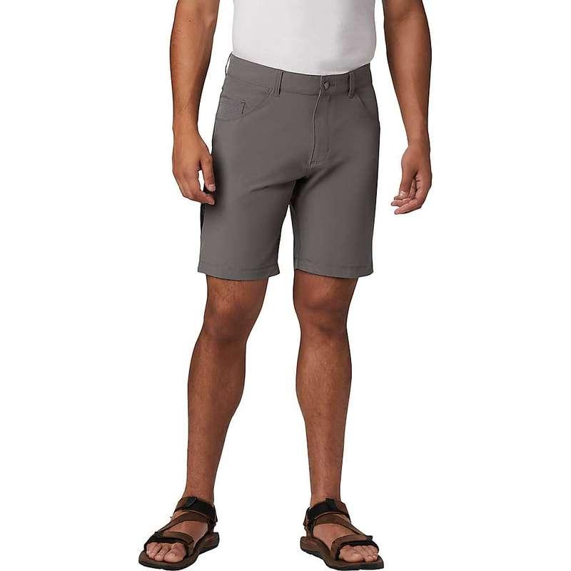 コロンビア メンズ ハーフパンツ・ショーツ ボトムス Columbia Men's Outdoor Elements 5 Pocket 9 Inch Short City Grey