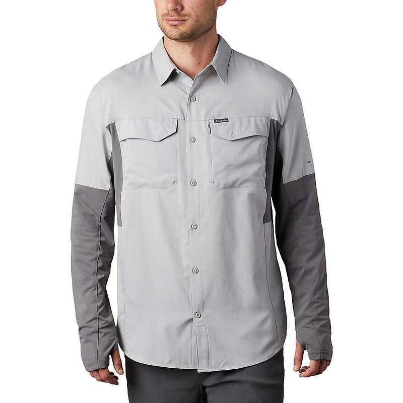 コロンビア メンズ シャツ トップス Columbia Men's Silver Ridge Lite Hybrid Shirt Columbia Grey / City Grey