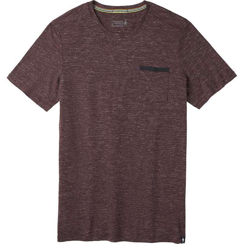 スマートウール メンズ Tシャツ トップス Smartwool Men's Everyday Exploration Pocket Tee Woodsmoke Heather
