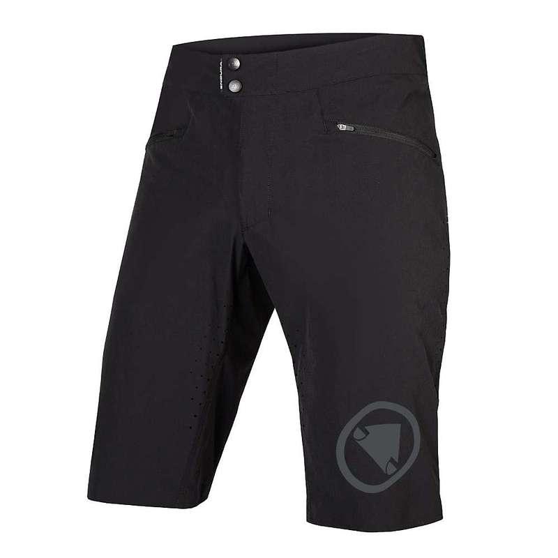 エンデュラ メンズ ハーフパンツ・ショーツ ボトムス Endura Men's SingleTrack Lite Short Black